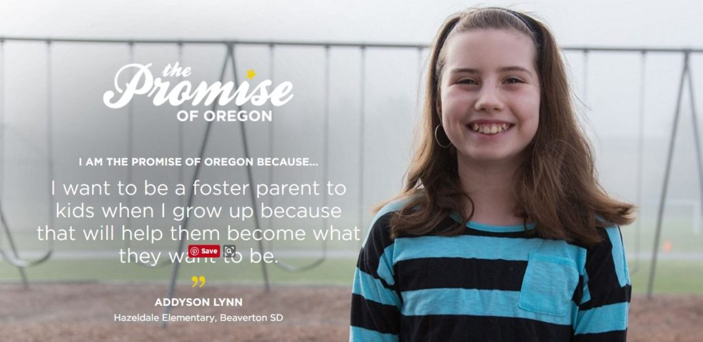 Promise of Oregon campaign