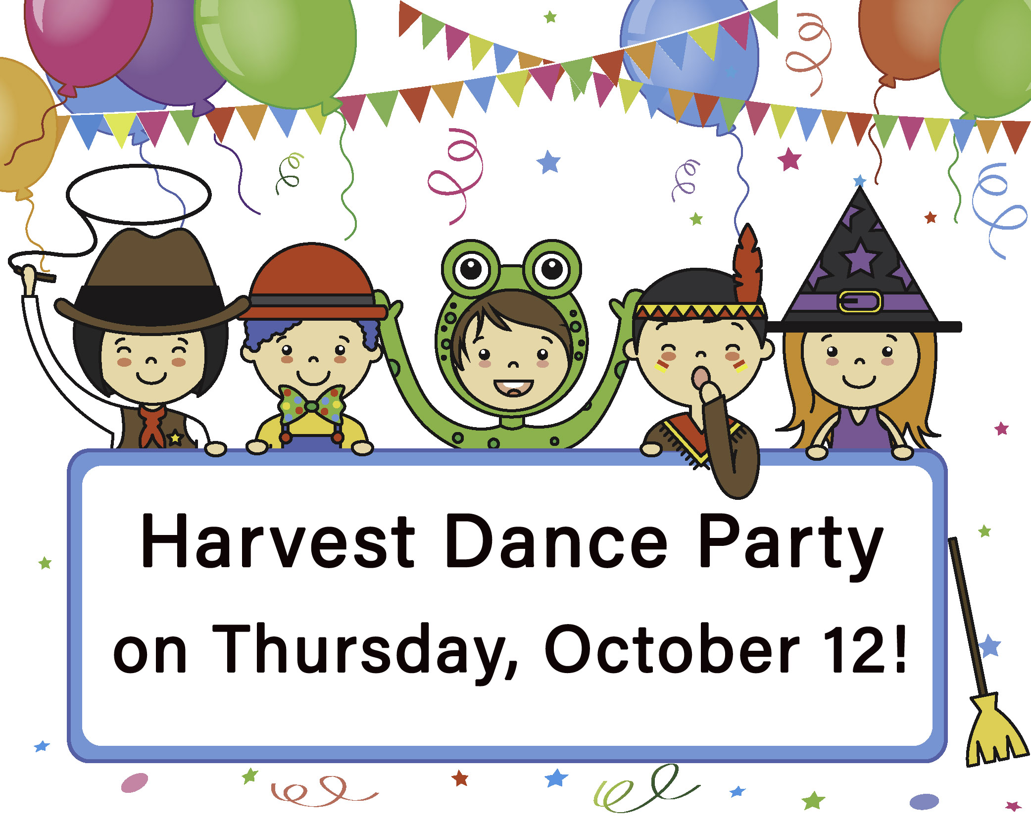 harvest dance party
