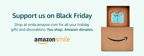 Black Friday Banner for AmazonSmile